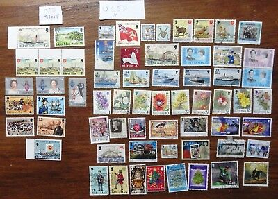 Isle of Man stamps 50 used, 13 mounted mint values to £2