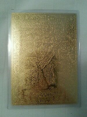 Rare 22Ct Gold Lord Of The Rings Danbury Mint Trading Card Samwise Gamgee