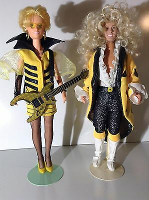 Jem and the Holograms custom doll The Stingers Riot Rapture dolls