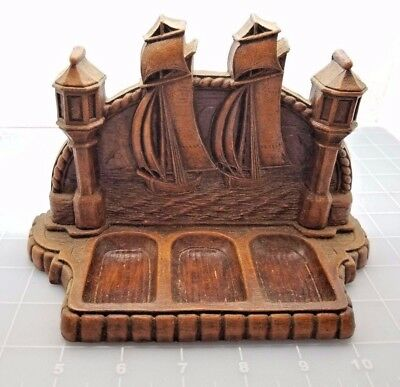 Judd's Nice Wooden Ship 3 Pipe Rest