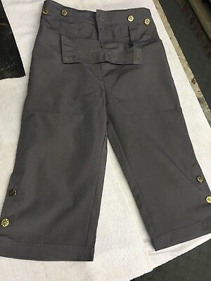 Pirate Choice Pants Breeches for JACK SPARROW Costume USED!  Great Condition!