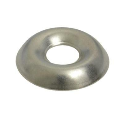 G304 Stainless Steel 8g / No.8 Imperial Cup Washer Finishing
