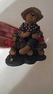 """Boyds Bears""""jimmie Favorite Pastime Coca-Cola #228479Cr  1E/3083 New In Box"""