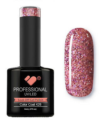 428 VB Line Blushing Topaz Purple - gel nail polish - super gel polish