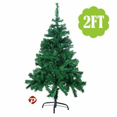 2/4/5/6/7/8ft Green PVC Full Artificial Christmas Holiday Tree w/Stand Small-Big