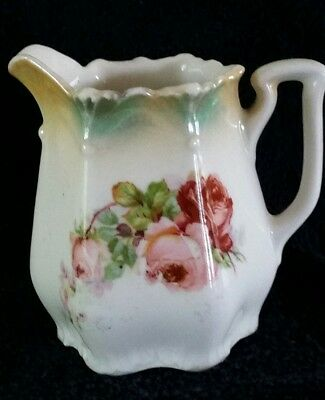 c.1900 Antique  Porcelain Cream Pitcher, Germany (free shipping)