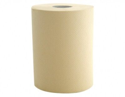 Bradley - Paper Roll Towel 8016 - 8m x 16 Continuous Rolls - Natural Colour
