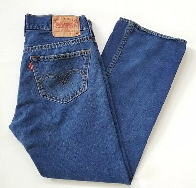 Levis Men's Jeans Iconic Straight type 1 Size 34x34 button fly