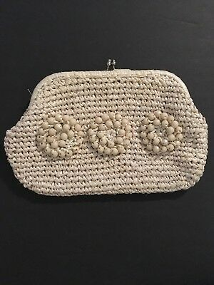 Vintage Delill Clutch Purse