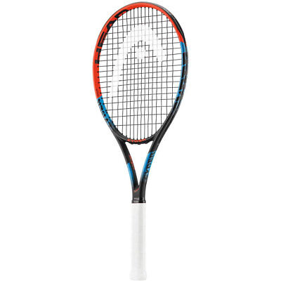 Head MX Cyber Tour Tennis Racquet Adult Racket Red 4 1/4 Pre-Strung w/ Cover