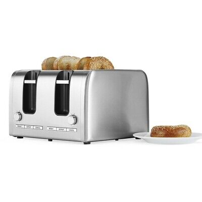 Contempo 4 Slice Stainless Steel Toaster