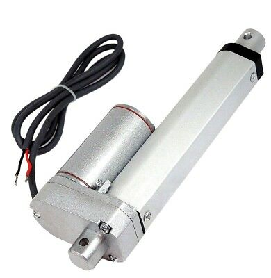 "Heavy Duty 4"" Linear Actuator Stroke 12V DC VOLT Marine Grade Built in Clutch US"