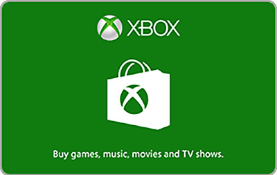 xBox Gift Codes $15 through $100 - Fast Email Delivery
