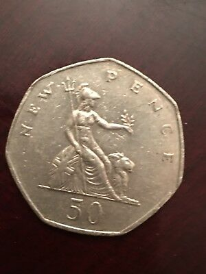 Great Britain 50 New Pence, 1980