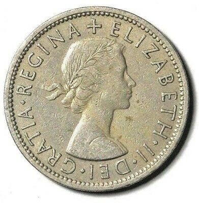 1955 Great Britain Two Shillings