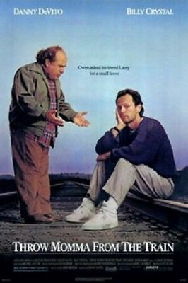 Throw Momma From Train Original Folded 27X41 Movie Poster Billy Crystal Devito