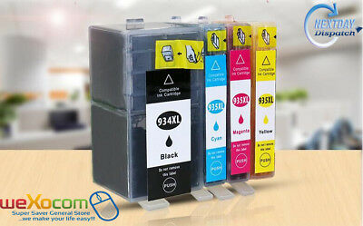 4 Pack 934 XL 935 XL Ink Cartridges For HP Officejet 6812 6830 6815 6835 6230