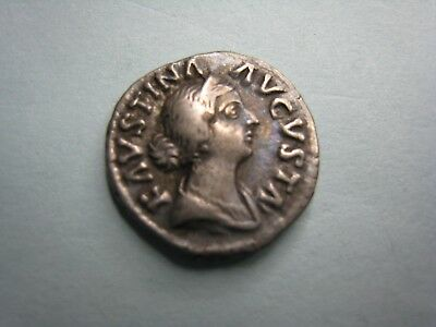 Rome Silver Denarius Ad 161-180 Faustina Junior  /twin Sons