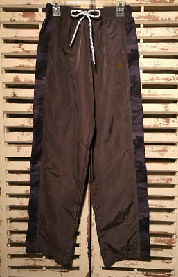 Nwt~Boutique~Mis Tee V-Us~Brown/camouflage Nylon Pants~Boy's~12