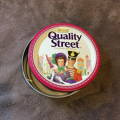 Biscuit Tin - Empty - Nestle Quality Street Chocolates & Toffees