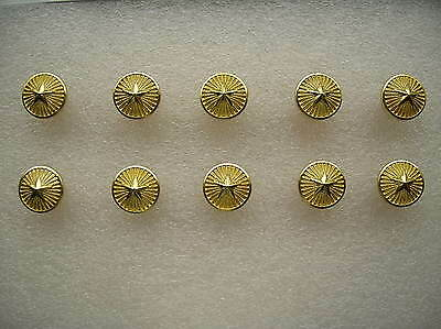 07's series China PLA Army,Navy,Air Force General Metal Buttons,10 Pcs,15mm,A