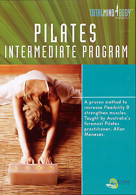 PILATES INTERMEDIATE PROGRAM ~ DVD new