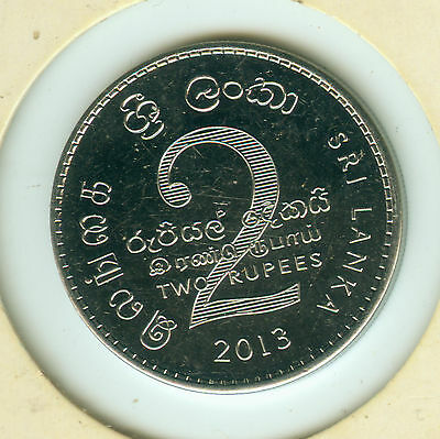 Sri Lanka 2 Rupien 2013 - Two Rupees