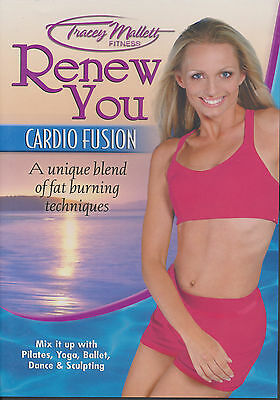 TRACEY MALLETT ~ RENEW YOU ~ CARDIO FUSION ~ DVD new