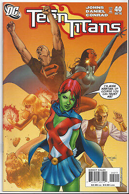 Teen Titans #40 Volume 3 Near Mint 9.4