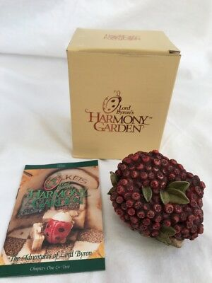 Harmony Kingdom Garden Lord Byron'S Cranberry Lot 34