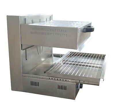Commercial Electric Lift-up Salamander 220v Kitchen Supply Heating Surface Stove