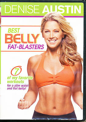 Denise Austin ~ BEST BELLY FAT-BLASTERS ~ DVD