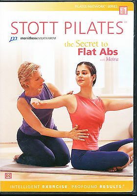 Stott Pilates ~ THE SECRET TO FLAT ABS ~ Level 1 ~ DVD