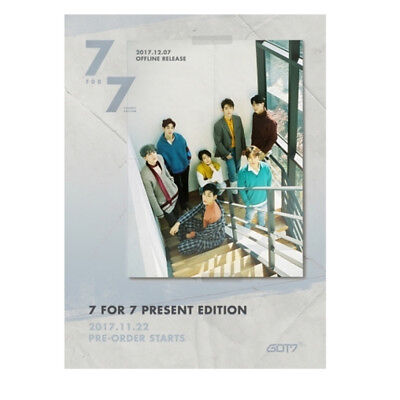 Got7 - 7 For 7 Present Edition (Starry Hour Ver.) Album+Pre Order Benefit