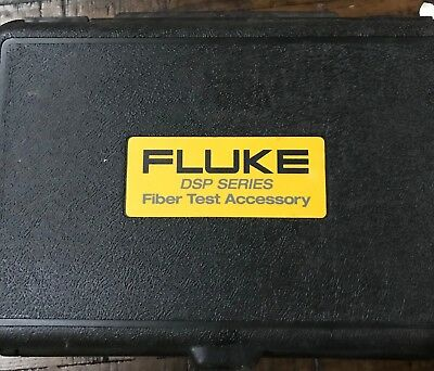 Fluke DSP FOM FOS 850/1300 1550, 1300, 850 set, Hard Case