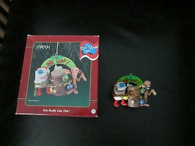 The Ren & Stimpy Show Christmas Ornament Yule Really Like This Joy Carlton Cards