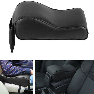 Universal PU Leather Car SUV Center Box Armrest Console Soft Pad Cushion Cover