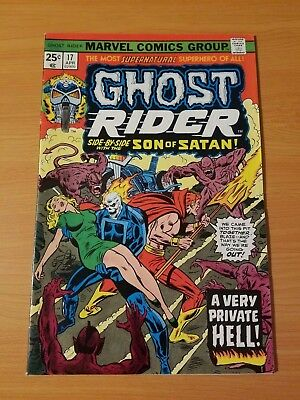 Ghost Rider #17 ~ VERY FINE - NEAR MINT NM ~ (1976, Marvel Comics)