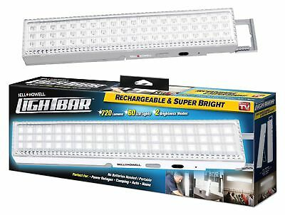 """LIGHT BAR by Bell + Howell 60 LED 16.5"""" Rechargeable Weather-Proof Home and G..."""