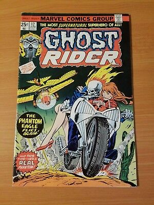Ghost Rider #12 ~ VERY FINE VF ~ (1975, Marvel Comics)