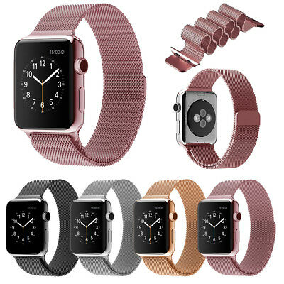 Milanese Magnetic Loop Stainless Steel Strap iWatch Band For Apple Watch 42mm/38