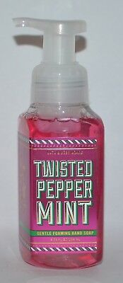 Bath & Body Works Twisted Peppermint Gentle Foaming Hand Soap Wash Foam 8.75 Oz
