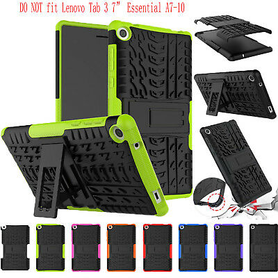 TPU Heavy Duty Hard Case Cover For  Lenovo Tab 3 7 TB3-730F/730M/730X Tablet
