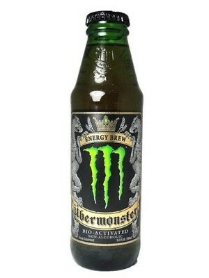 Uber Monster - Bio Activated Non-alcoholic Energy Brew - Limited Release Monster