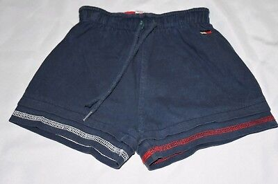 Vintage 90s Infant Tommy Hilfiger Navy Blue Baby Shorts 6-12 mos Unisex