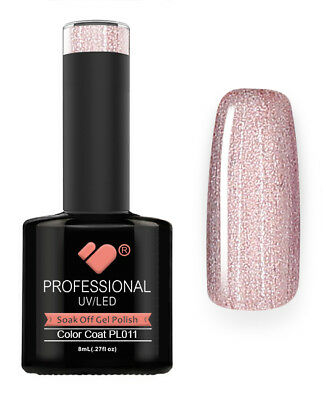 PL011 VB Line Platinum Light Rose Gold Metallic - gel nail polish - gel polish