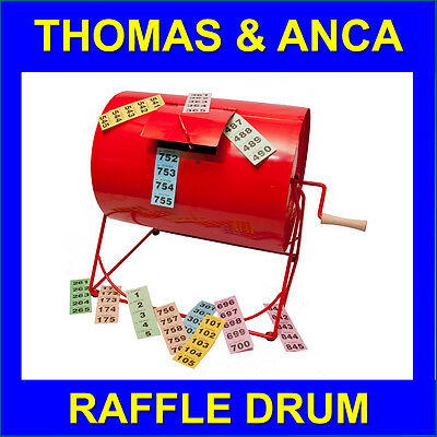 Raffle Tombola Club Draw Drum