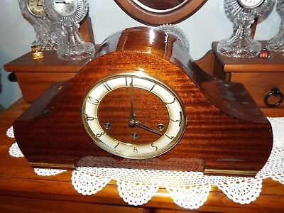Professionally Restored German Triple Chimer Clock 3X Difrent Chimes On 9 Hammer