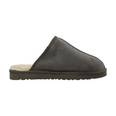 UGG Classic Scuff Slipper, Australian Sheepskin - Auzland, Grey, Men's