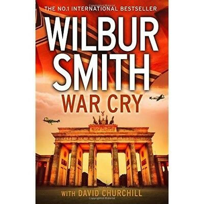 War Cry Wilbur Smith NEW Paperback Book 0007535897 War Military Action Adventure